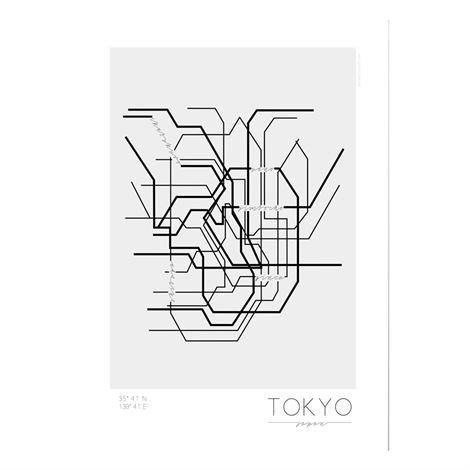 Kreativitum Underground Juliste Tokyo