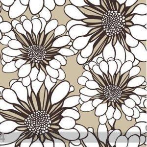 Lavmi Tapetti Valkoiset Kukat