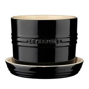 Le Creuset Yrttiruukku Black 13 Cm