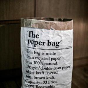 Le Sac En Papier Paperipussi Valkoinen