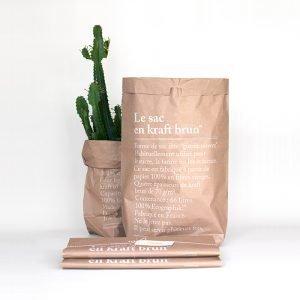 Le Studio Be Polês Brown Paper Bag