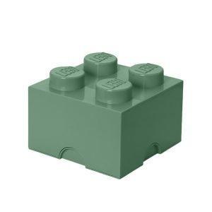 Lego Säilytyslaatikko 4 Hiekanvihreä