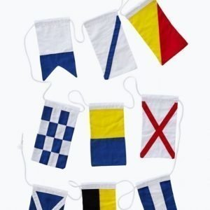 Leila Sailor Flags Lippunauha