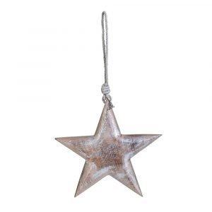 Lene Bjerre Angie Ornament Tähti Iso Hopea