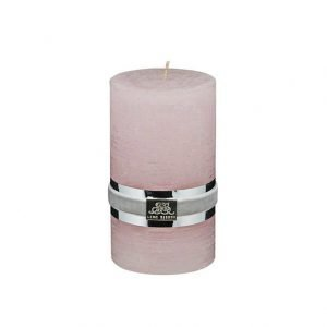 Lene Bjerre Candle Collection Kynttilä Vaaleanpunainen Medium