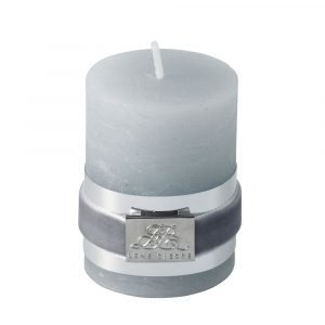 Lene Bjerre Candle Kynttilä Vaaleanharmaa Small