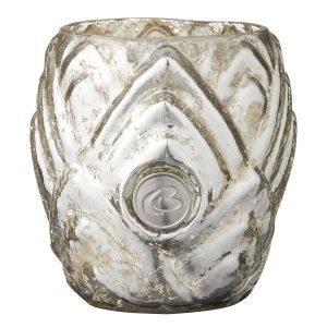 Lene Bjerre Dalia Kynttilälyhty Antique Silver 7