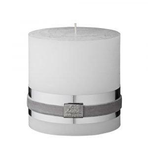 Lene Bjerre Rustic Kynttilä Valkoinen 10 Cm