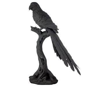 Lene Bjerre Serafina Parrot Musta 43 Cm