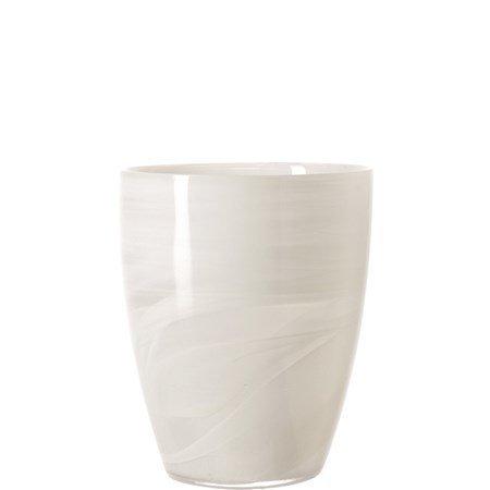 Leonardo Alabastro Kynttilälyhty Valkoinen 19 cm