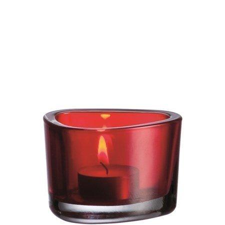 Leonardo Organic Kynttilälyhty Punainen