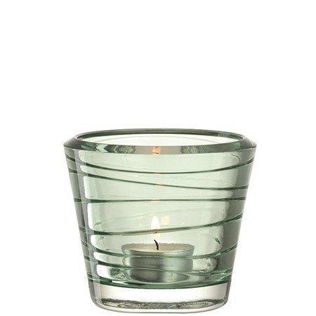 Leonardo Vario Kynttilälyhty Vihreä 8 cm