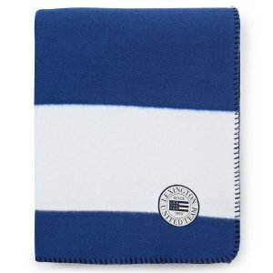Lexington Block Striped Fleece Huopa Sininen 130x170 Cm