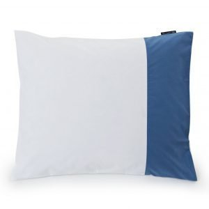 Lexington Blue Contrast Poplin Tyynyliina 50x60 Cm