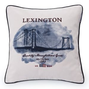 Lexington Bridge Tyynynpäällinen Creme 50x50 Cm