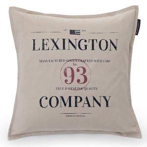 Lexington Contrast Tyynynpäällinen Beige 50x50 Cm