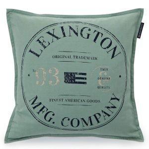 Lexington Contrast Tyynynpäällinen Vihreä 50x50 Cm