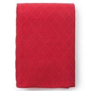 Lexington Cotton Structure Päiväpeite Punainen 260x240 Cm
