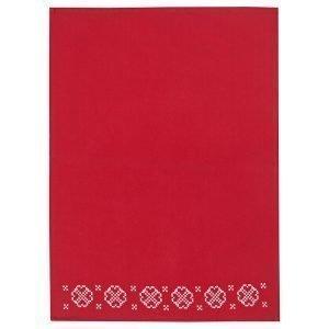 Lexington Embroidery Keittiöpyyhe Punainen 50x70 Cm