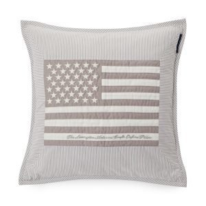 Lexington Flag Arts & Crafts Tyynynpäällinen Sininen / Valkea