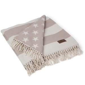 Lexington Flag Viltti Valkoinen / Beige 130x170 Cm
