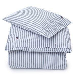 Lexington Poplin Stripe Pussilakana Sininen 150x210 Cm