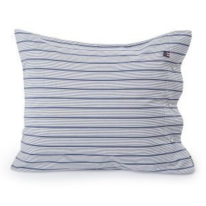 Lexington Poplin Stripe Tyynyliina Sininen 65x65 Cm