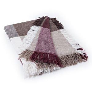 Lexington Square Wool Huopa Punainen / Beige 130x170 Cm