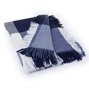 Lexington Square Wool Huopa Sininen / Harmaa 130x170 Cm