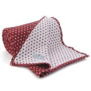 Lexington Star Bedspread Päiväpeite Punainen 160x240 Cm