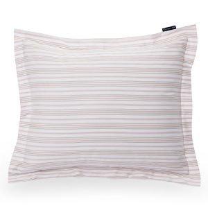 Lexington Striped Sateen Tyynyliina Vaaleanpunainen 50x60 Cm