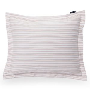 Lexington Striped Sateen Tyynyliina Vaaleanpunainen 65x65 Cm