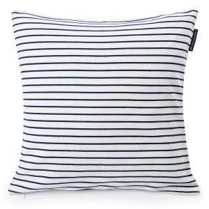 Lexington Striped Tyynynpäällinen Sininen 50x50 Cm