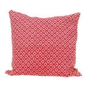 Lidby Living Diamond Tyynynpäällinen Punainen 50x50 Cm