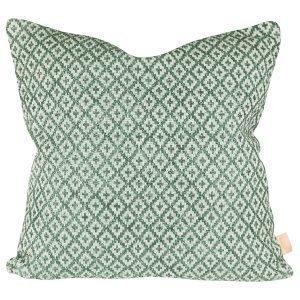 Lidby Living Diamond Tyynynpäällinen Vihreä 50x50 Cm