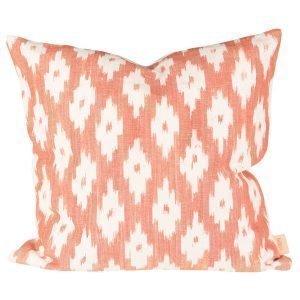 Lidby Living Ikat Cors Tyynynpäällinen Orange 50x50 Cm