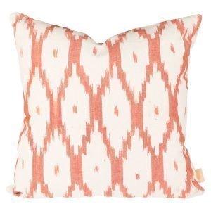 Lidby Living Ikat Hortella Tyynynpäällinen Orange 50x50 Cm