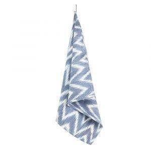 Lidby Living Zigzag Keittiöpyyhe Harmaa / Valkoinen 50x62 Cm