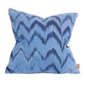 Lidby Living Zigzag Tyynynpäällinen Sininen 50x50 Cm