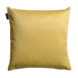 Linum Ascoli Tyynynpäällinen Misted Yellow 50x50 Cm