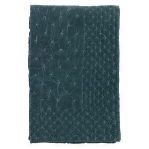 Linum Paolo Päiväpeitto Bright Grey Turquoise 270x260 Cm