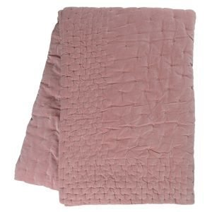 Linum Paolo Päiväpeitto Dusty Pink 270x260 Cm
