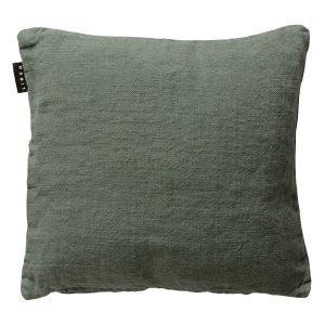 Linum Raw Tyynynpäällinen Grey Green 50x50 Cm
