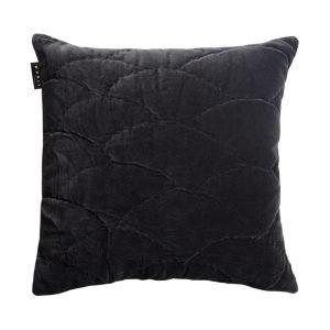Linum Siena Tyynynpäällinen Dark Charcoal Grey 50x50 Cm