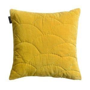 Linum Siena Tyynynpäällinen Mustard Yellow 50x50 Cm