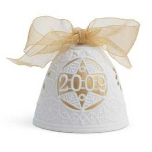 Lladro 2009 Christmas Bell Re Deco
