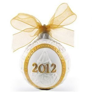Lladro 2012 Christmas Ball Gold
