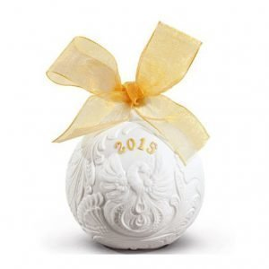 Lladro 2015 Christmas Ball Re Deco