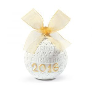 Lladro 2016 Christmas Ball Re Deco