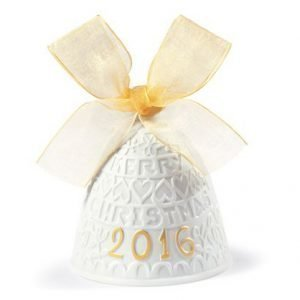 Lladro 2016 Christmas Bell Re Deco